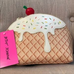 Betsy Johnson Sprinkles Makeup Bag